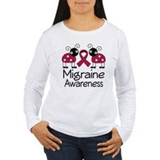 Migraine Awareness Ladybug T-Shirt