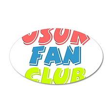 USUK Fan Club 22x14 Oval Wall Peel