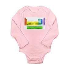 Funny Carbon Long Sleeve Infant Bodysuit