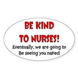 Nurse Humor Decal