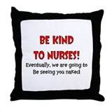 Nurse Humor Throw Pillow