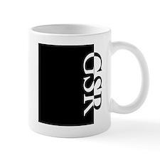 GSR Typography Small Mug