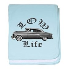 low life lowrider baby blanket
