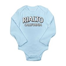 Rialto California Long Sleeve Infant Bodysuit