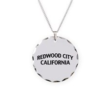 Redwood City California Necklace