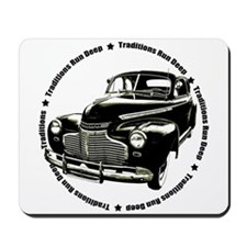 1941 chevy coupe street rod Mousepad