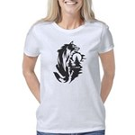 Gale is Mine Organic Women's Fitted T-Shirt (dark)
