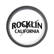 Rocklin California Wall Clock
