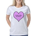 Peeta is Mine Organic Men's Fitted T-Shirt (dark)