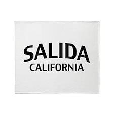 Salida California Throw Blanket