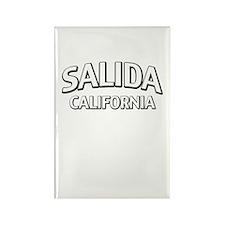 Salida California Rectangle Magnet
