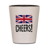 British Cheers Shot Glass