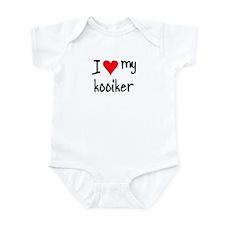 I LOVE MY Kooiker Infant Bodysuit