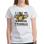 Women's T-Shirt featuring Banana Triangle cast