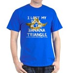Dark T-Shirt featuring Banana Triangle cast
