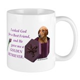 Funny Golden retriever items Mug