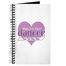 Personalize World's Best Dancer Journal
