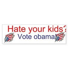 Cool Obama 2012 kids Bumper Sticker