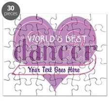 Personalized Dance Gear Puzzle