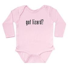 GOT LIZARD Long Sleeve Infant Bodysuit