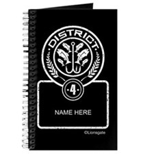 Personalized District 4 Journal