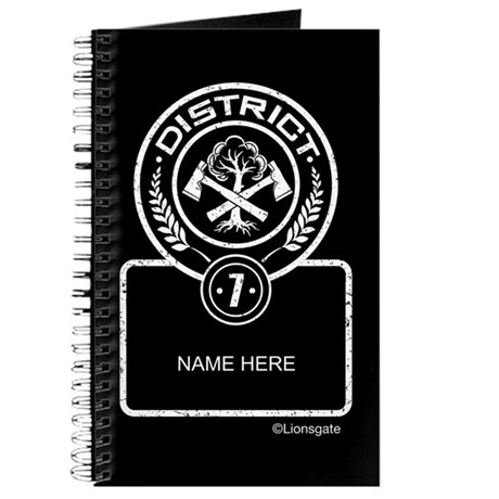 Personalized District 7 Journal