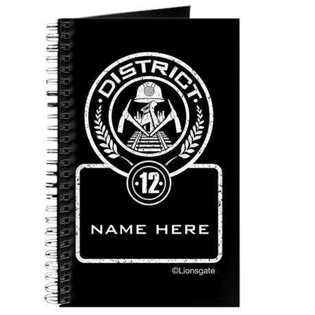 Personalized District 12 Journal