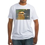 Guam Micronesian Kingfisher(m Fitted T-Shirt