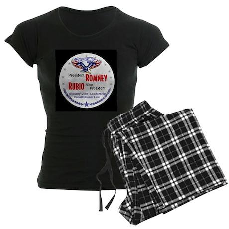 Romney Rubio Women's Dark Pajamas