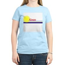 Alonzo Women's Pink T-Shirt