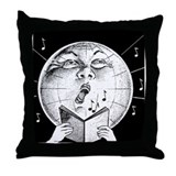 Funny Cover songs Throw Pillow