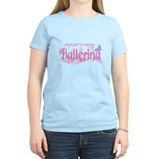 Personalize Pink Ballerina T-Shirt