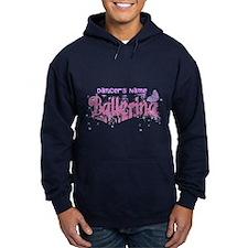 Personalize Pink Ballerina Hoodie