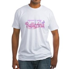 Personalize Pink Ballerina Shirt