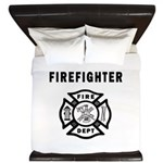 Firefighter King Duvet