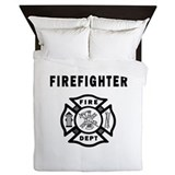 Fireman Queen Duvet Covers