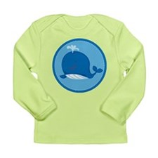 Cute Whale Ocean Long Sleeve Infant T-Shirt