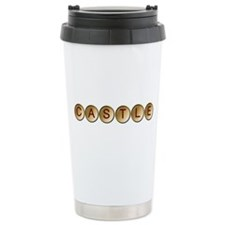 Castle Ceramic Travel Mug