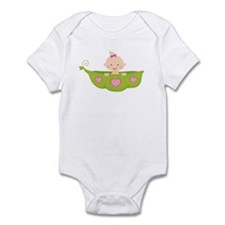 Baby Girl Pea Pod Boat Infant Bodysuit