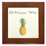 E Komo Mai (Sage Green) Framed Tile