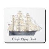 Clipper Flying Cloud Mousepad