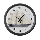 Clipper Flying Cloud Large Wall Clock