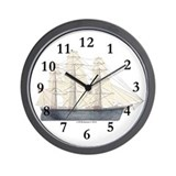 Clipper Flying Cloud Wall Clock