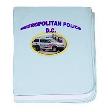 Washington D C Polic baby blanket