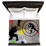 Paintball Aim King Duvet