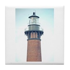 Currituck Beach Light Tile Coaster