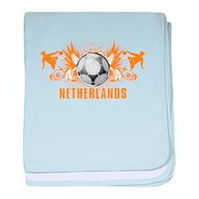 NETHERLANDS baby blanket