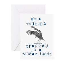 I'm a Vulture Greeting Cards (Pk of 10)
