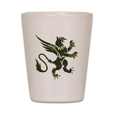 Argyle Gryphon Shot Glass
