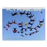 Fly Forever Wall Calendar